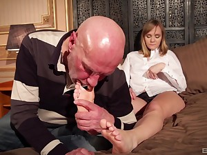 Beauteous mature MILF Lucette Nice fucked missionary hardcore convenient residence
