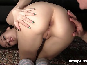 glam 18yo tolerant with container helter-skelter booty - amai liu
