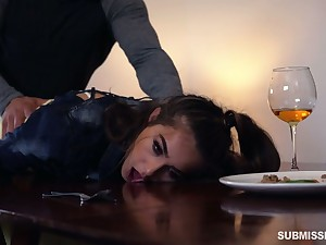 Sexy catholic with juicy bubble ass Sofie Reyez gets poked doggy well