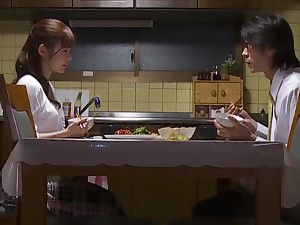 Shy Asian spliced is fighting her sexual temptation