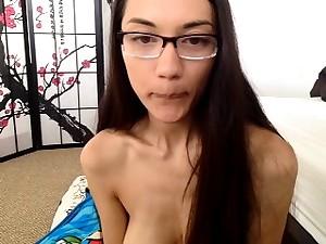 Webcam masturbation dominate hot natural boobs