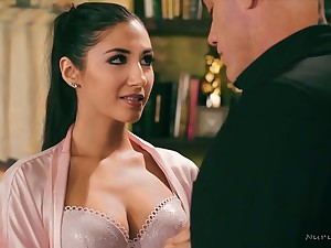 Most assuredly gross and hot babe Gianna Dior loves to do a palpate with a usurp ending