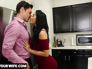 Brother's whore get hitched Victoria June turned to be most assuredly hot plus insatiable bitch