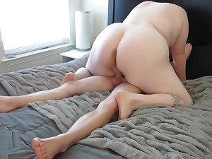 Fat Pussy Made Him Cum Coupled In 8 Minutes!! - Madeline Roux