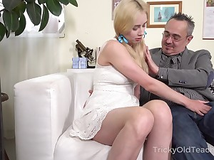 Age-old professor enjoys fucking young student with pigtails Effy Sweet