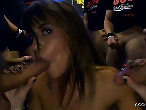 Astounding anal with cums on shaved silvia dellai
