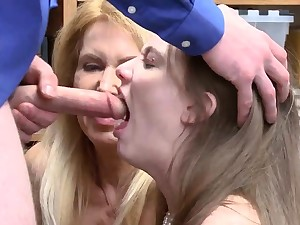 Dad fuck in office and very hardcore rough carnal knowledge Both